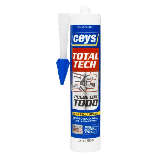 Cartucho Total Tech Blanco 290ml