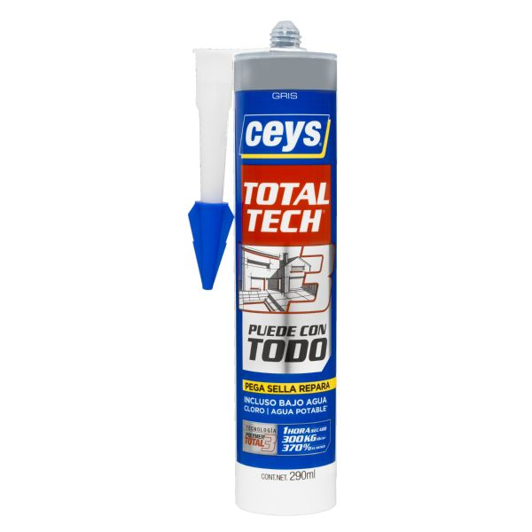 Cartucho Total Tech Gris 290ml