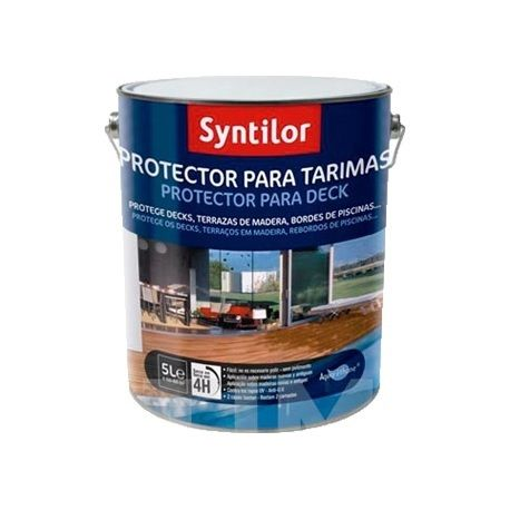 Protector Tarima Color Gris 2,5 Lts