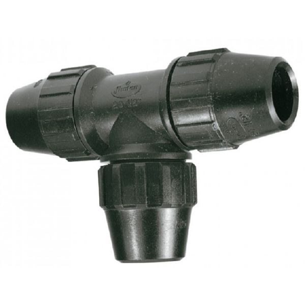 "Te Bocas Iguales Ø40mm 1-1/4"" Fitting"